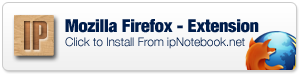 Mozilla Firefox IP Address Finder Extension